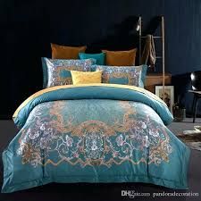 luxurious bedding digital printing high end luxurious bedding sets gentle and comfortable bedding queen size red luxurious bedding