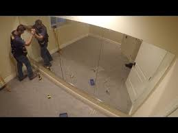 how to hang a wall of mirrors the