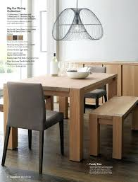 big sur dining table entrancing crate and barrel dining table for your house idea