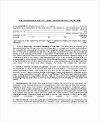 Business Confidentiality Agreement Unique Business Confidentiality ...