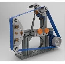 industrial belt grinder. rubber wheel belt grinder industrial