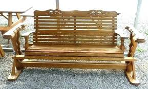 free porch glider plans how to make a wooden porch swing winsome 8 homemade glider plans