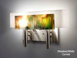 picture of dessy two glass wall sconce