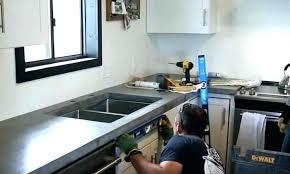 diy concrete countertops over laminate concrete over laminate installing concrete how to level concrete when installing
