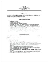 Resume Center Magnificent Call Centre Resume Samples Free Center Netdevilzco