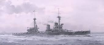 inflexible. hms inflexible at the time of jutland - summer 1916 inflexible