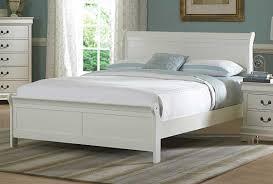 Marianne White Queen Sleigh Bed