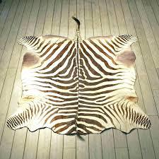 zebra area rug brown zebra rug zebra rug mount the taxidermy brown zebra area brown
