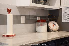 installing a tile backsplash doesn t have to involve a big mess with a wet