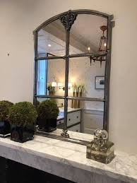 Architectural Window Frame Mirrors within Small Antique Mirrors (Image 6 of  25)