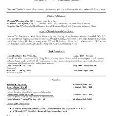 Lpn Resume Cover Letter Best of Resume Templates Sample Lpn Skills Objective Practical Nursing