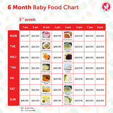 6 Month Old Baby Food Chart Indian Food Chart For 15 Months Old Baby Healthy Food Recipes To