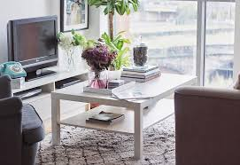the parsons white top coffee table by homesense