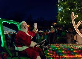 Napa Christmas Tree Lighting Calistoga Holiday Village Christmas Faire Spend The