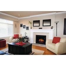 electric fireplace insert with flush mount trim kit 85842 bb the home depot