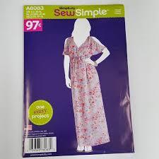 Walmart Sewing Patterns