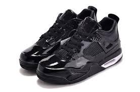 2016 air jordan 11lab4 black patent leather shoes