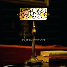fresh bankers lamp shade or old shanghai stained glass replacement