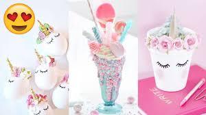 diy room decor 15 easy crafts ideas at home unicorn desserts recipes