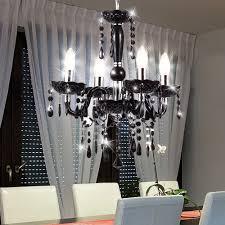 Kronleuchter Wohnzimmer Hängeleuchte Deckenbeleuchtung Luster Schwarz Globo Cuimbra 63110 4