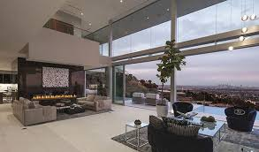 modern mansion living room. Luxury Modern Mansion Living Room With View