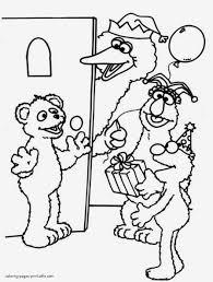 Sesame Street Coloring Pages Lezincnyccom