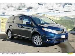 2011 Toyota Sienna XLE AWD in South Pacific Blue Pearl - 019588 ...