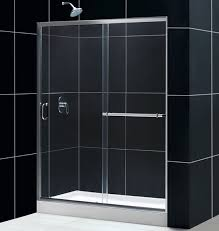 fancy sliding shower doors with dreamline showers infinity plus sliding shower door glass shower