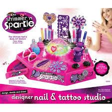 makeup kits for girls at walmart. cra-z-art designer nail \u0026 tattoo studio makeup kits for girls at walmart