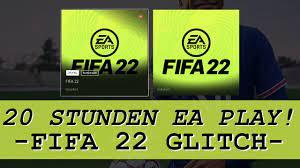 FIFA 22: 20 STUNDEN EA PLAY SPIELEN! 😍✓ FIFA 22 GLITCH für 10 STUNDEN  MEHR! | FIFA 22 Ultimate Team - YouTube