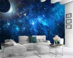 Home Decor 3d Wallpaper Blue Space ...
