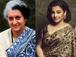 vidya balan to essay the role of indira gandhi in a biopic
