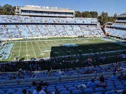 Keenan Stadium Seating Chart Kenan Memorial Stadium Section 222 Rateyourseats Com
