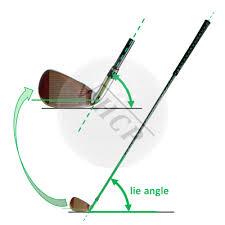 Golf Club Lie Angle Chart Lie Angle Of The Golf Club Golf Calculators
