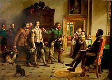 shakespeare s life  shakespeare before thomas lucy a typical victorian illustration of the poaching anecdote