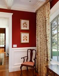 Elegant Red Wall Curtains Decor with Curtains Curtains To Go With Red Walls  Ideas Wall Color