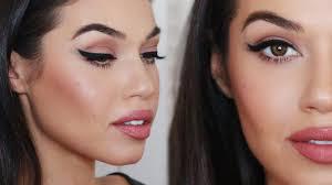 mac makeup looks natural. angelina jolie inspired makeup | natural everyday look eman - youtube mac looks