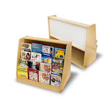 book display shelf.  Shelf Toddler Book Display With Easel U0026 Shelf Intended
