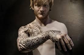 Viking Tattoos By Peter Walrus Madsen Dk Viking Tetkok