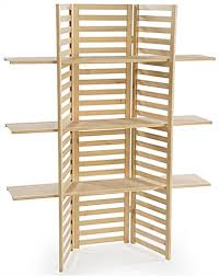 folding display shelves. Wooden Display Rack With Folding Shelves