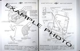 1955 1959 chevrolet pickup truck factory assembly manual reprint assembly manual example photo