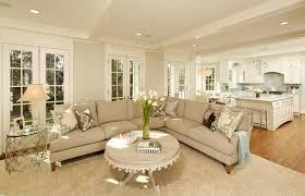 benjamin moore gray owl living room traditional with flower vase beige area rug beige sectional living room