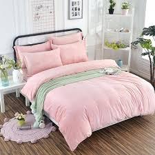 velvet comforter sets 1 bedding set bed sheet red pink blush se