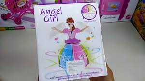 Doll ( Barbie <b>Angel Girl</b> Dancing Toy ) Music & Color full Lights Toy ...