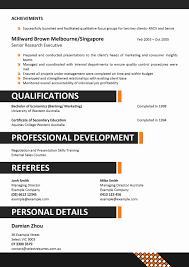 corporate resume samples resume format 2017