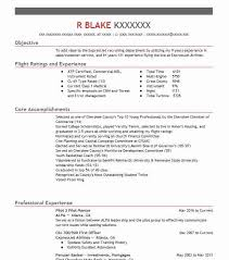 Sample Airline Pilot Resume