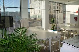 eco friendly office. Eco-friendly Commercial Office Design With Green Plants Eco Friendly