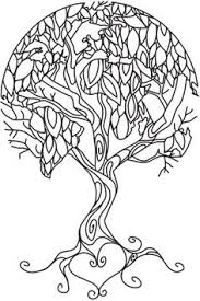 Small Picture Coloring Page World Earth Tree Portrait Coloring Pinterest