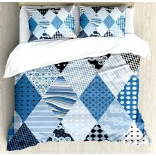 blue pattern duvet cover farmhouse geometric diamond shaped lines with various nostalgic fashioned old pattern duvet blue pattern duvet cover