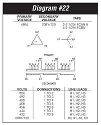 t4t30e 30 kva federal pacific transformer t4t30e wiring diagram